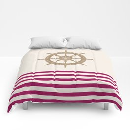 AFE Gold Nautical Helm Wheel Comforters