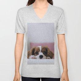 Cutie Puppy Unisex V-Neck