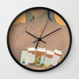 Digital Druglord-Blackbear Wall Clock