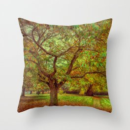 Chestnut Walk Throw Pillow