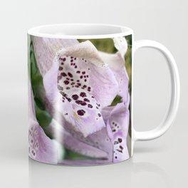 Foxgloves in Frost Coffee Mug