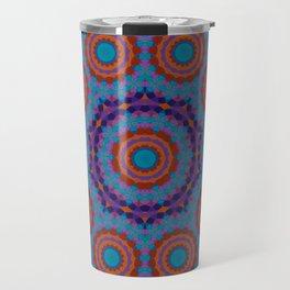 Mosaic Mandala Travel Mug