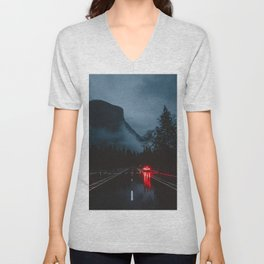 Yosemite Valley Gothic Unisex V-Neck