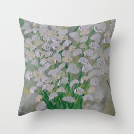 Return of Happiness Throw Pillow