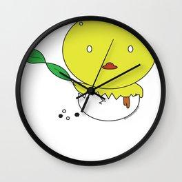 hot vit lon Wall Clock