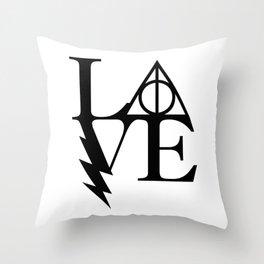 HP love Throw Pillow