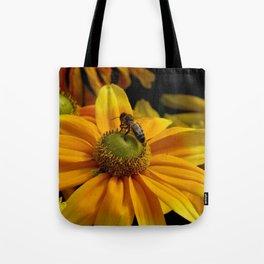 sunny wasp Tote Bag