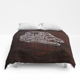 Dilophosaurus Skull Comforters