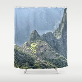 The Lost City of The Incas Shower Curtain
