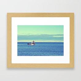 The Fisherman's Journey Framed Art Print
