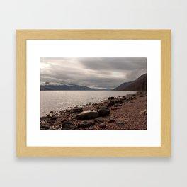 Morning over Loch Ness Framed Art Print
