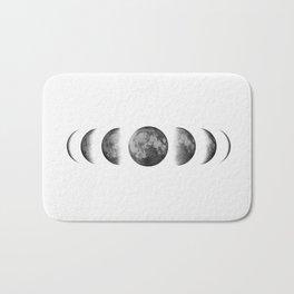 Phases of the moon - Scandinavian art Bath Mat