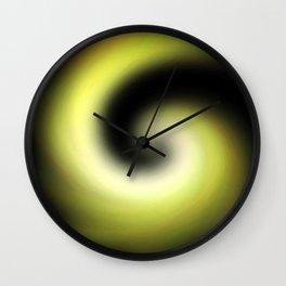 Going Away Wall Clock