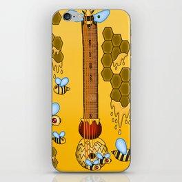 Keyblade Guitar #39 - Sweet Memories (Winnie Pooh World) iPhone Skin
