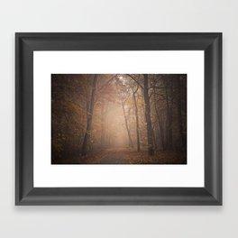 calm autumn Framed Art Print