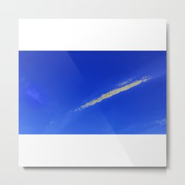 Flash of gold in the sky Metal Print