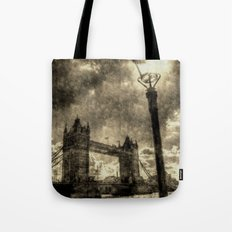 Tower Bridge vintage Tote Bag