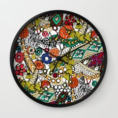Indian dance Wall Clock