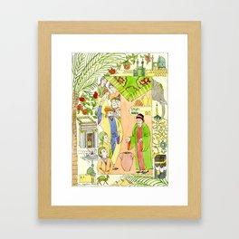 Arabian Nights-Ali Cogia Framed Art Print