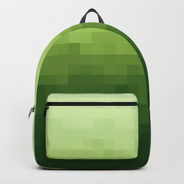 Gradient Pixel Green Backpack