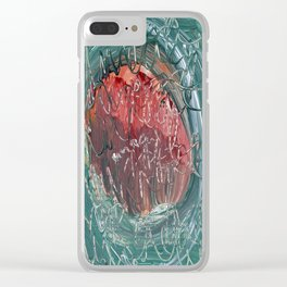 Thoughtscape 47 Clear iPhone Case