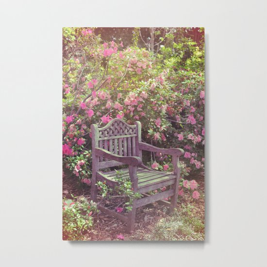 Save me a seat! Metal Print