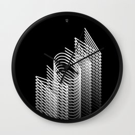 FOREVER NOW Wall Clock