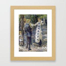 The Swig by Renoir Framed Art Print