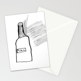 Bottle of Milk Stationery Cards