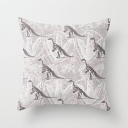 Dinosaure Throw Pillow