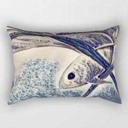 My Little Fish Rectangular Pillow