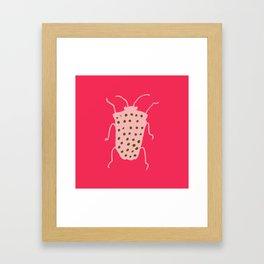 Arthropods hot pink Framed Art Print