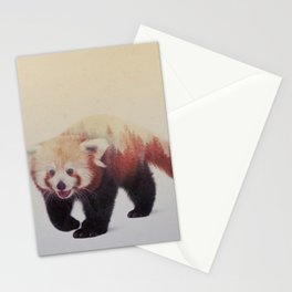 Little Ones: Red Panda Stationery Cards