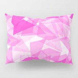 Pink Geo  Pillow Sham