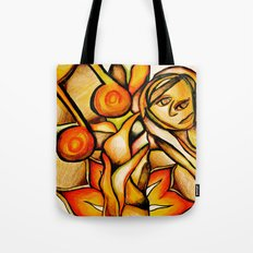 Flower- Reflect  Tote Bag