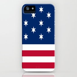 Historical flag of the USA: Hopkinson iPhone Case