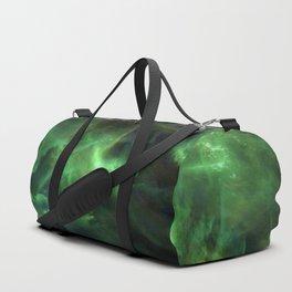 Ghostly Green Smoke Duffle Bag
