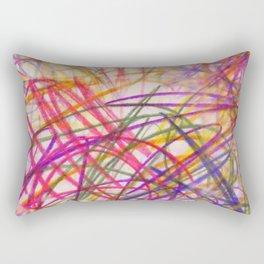 Ilaria Multi Scribble Rectangular Pillow