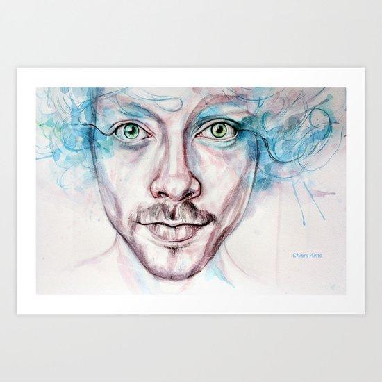 beyond the gaze Art Print