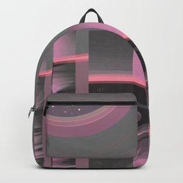 Claraboya, Geodesic Habitacle, Pink neon room Backpack