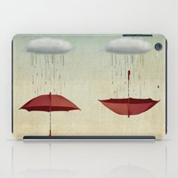 karen iPad Cases featuring embracing the rain by Vin Zzep