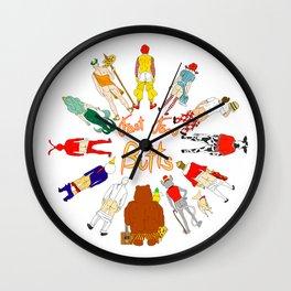 Fast Food Butts V2 Wall Clock