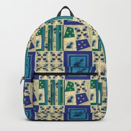 Thistle Print Quilt Coordinate Backpack