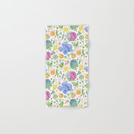 Winter Harvest Pattern Annotated Hand & Bath Towel