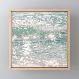 Destin Sparkles Framed Mini Art Print