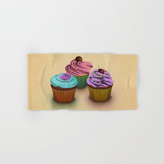 Cupcakes!  Hand & Bath Towel