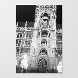 Town Hall Canvas Print