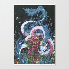 Haku Canvas Print