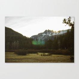 Buttes Canvas Print