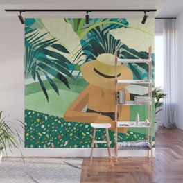 Chill #illustration #travel Wall Mural